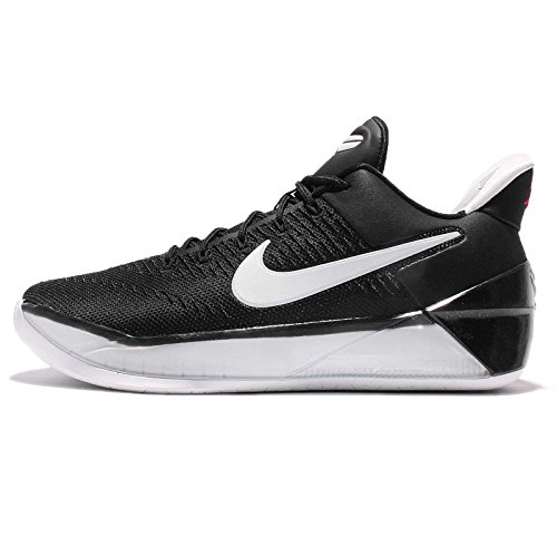 NIKE Kid's Kobe A.D. GS, Black/White-University Red, Youth Size 5