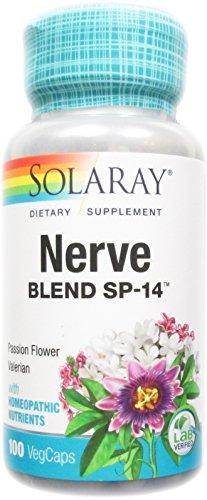 Solaray - Nerve Blend Sp-14, 100 - Nerve Blend