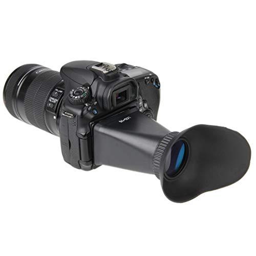 ShenBiadolr Camera Eyecup V5 2.8X 3.0 inch 4:3 LCD Magnifier Extender Hood Eyecup Viewfinder for Nikon J1 V1