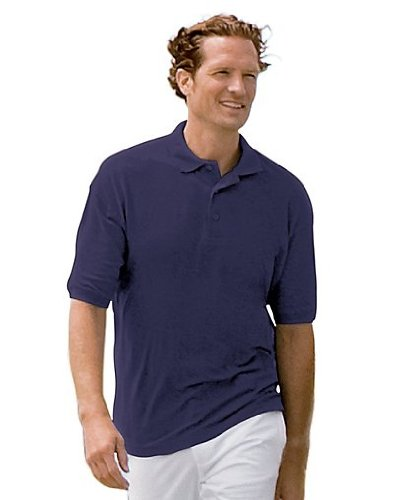 Outer Banks Men's Essential Blended Pique Polo, (Essential Ringspun Pique Shirt)