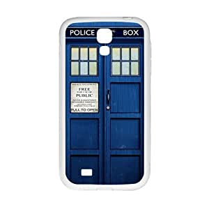 Doctor Who blue police box Cell Phone Case for Samsung Galaxy S4 WANGJING JINDA