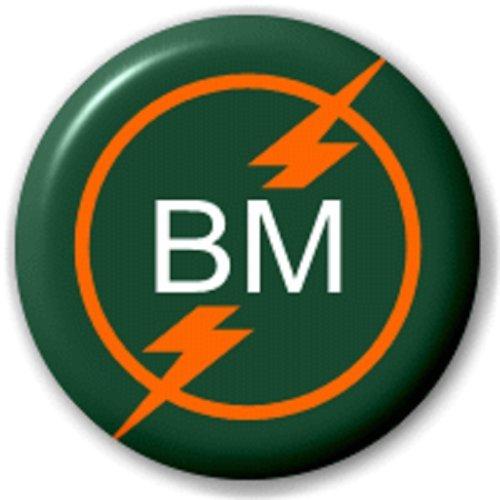 BM - MEILLEUR HOMME (MARIAGE) - 25 MM BROCHE INSIGNE DE BOUTON