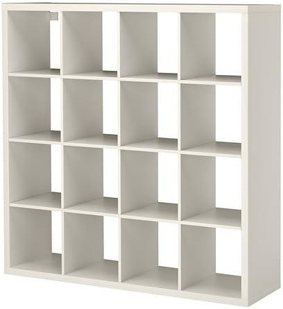 Ikea Estantería de Almacenamiento, Color Blanco, 147 x 147 cm ...