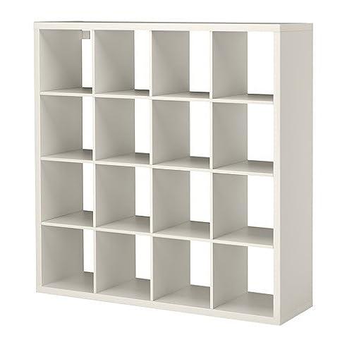 IKEA KALLAX U2013 Regal, Weiß, 147 X 147 Cm