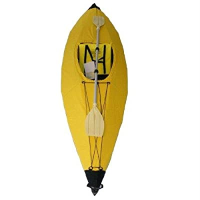 FoldLite 10 Ft Yellow Folding Kayak