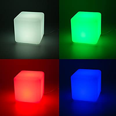 GreenLighting Color Changing 3W Floating LED Cube Light (2 Pack)