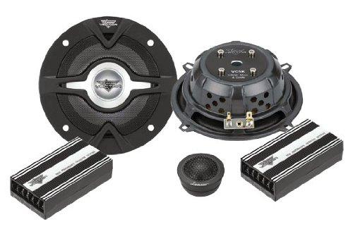 Lanzar VC5K Vector 5.25-Inch 2-Way Slim Component Speaker System
