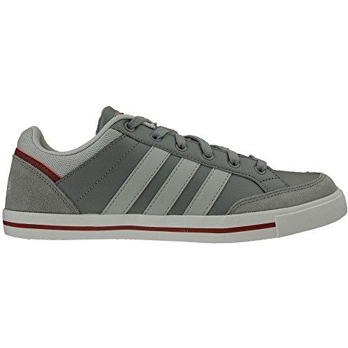 Adidas Cacity - F99206 Hvit Burgunder-grå