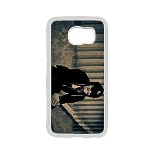 Samsung Galaxy S6 Cell Phone Case , Handsome Man Theme Custom Phone Case