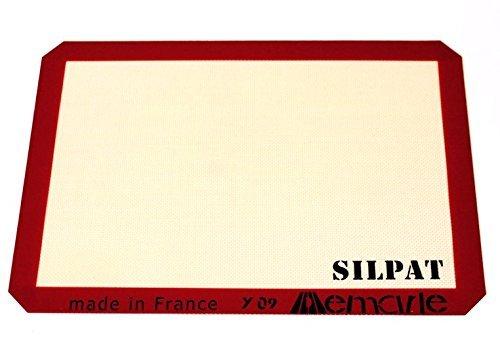 Silpat Baking Mat Non-Stick Silicone Half Sheet 11-5/8 inch x 16-1/2 inch
