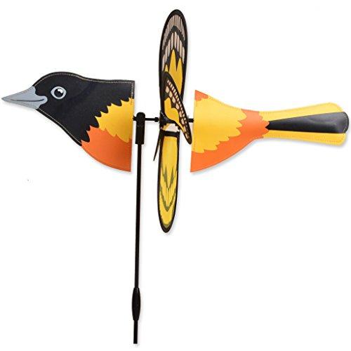 Oriole Garden (ORIOLE Petite Garden Stake Wind Spinner by Premier Kites & Designs-19.25