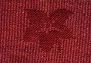 Catering manteles y servilletas de poliéster–Pastel x Pastel de hojas color crema