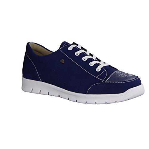 2860901792 Scarpe Comfort Blau Donna Finn Stringate fq7xwSq5O