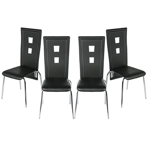 high back kitchen chairs - 6