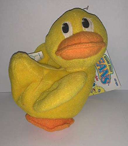 Sesame Street Beans: Rubber Duckie by Tyco