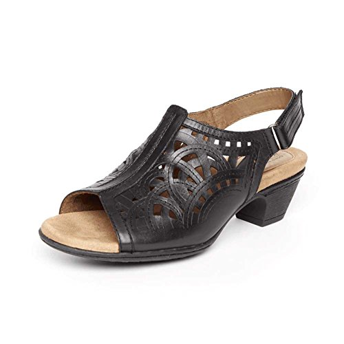 Vamp Leather Rockport Women's Slg Abbott Hi Black Shoes qtAtFPxw