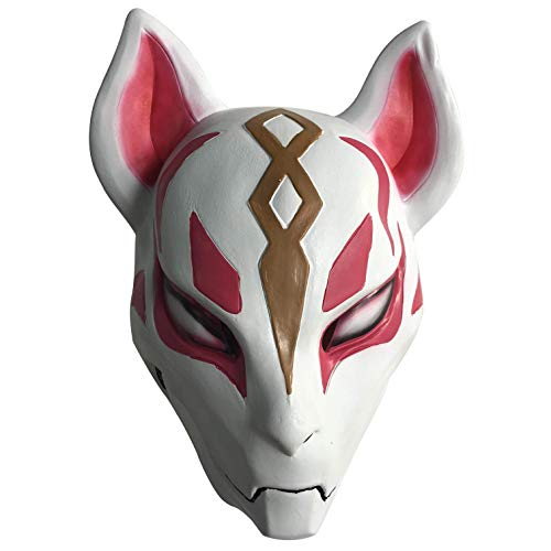 CZDERE Fortnite Drift Latex Mask for Halloween Cosplay Party Costume Rubber for Mens Boys Youth -
