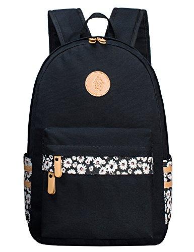 H HIKKER-LINK Womens Laptop Backpack Travel Daypack Cute School College Hand Bag Rucksack Bookbag