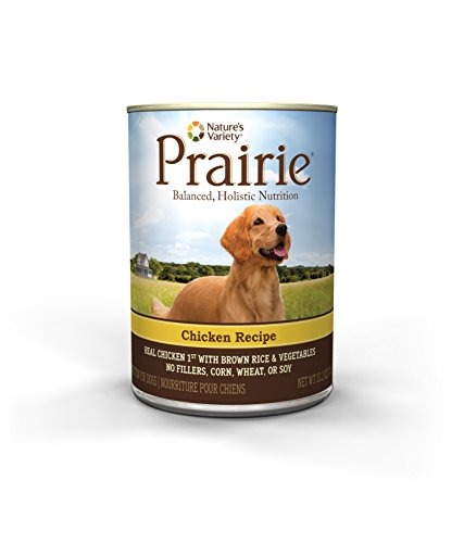 Nature's Variety Prairie Chicken Recipe with Brown Rice Canned Dog Food, 13.2 oz. (Case of 12)