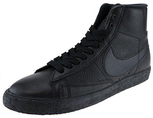 Zapatillas Nike Mujeres Blazer Mid Se Hi Top 885315 Zapatillas Sneakers Black Antracita 001