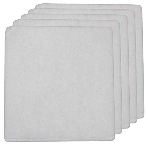 LifeSupplyUSA 5 Pack Aftermarket Replacement Pre-Filter Pads Designed to fit IQ Air Iqair PF40