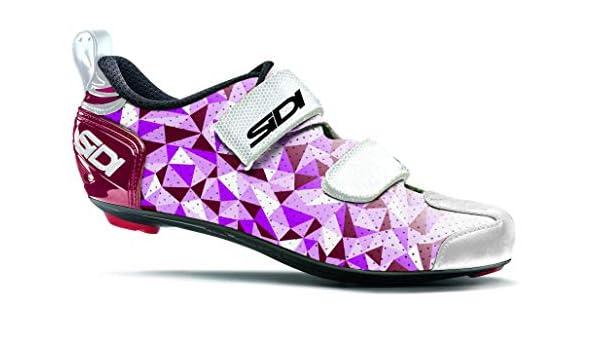 SIDI T-5 Air Zapatos de triatlón para mujer, Rojo (rojo, rosa ...