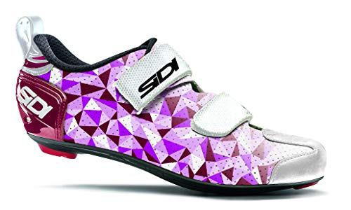 Sidi T-5 Air Shoes Women Pink/red/White 2020 Bike Shoes