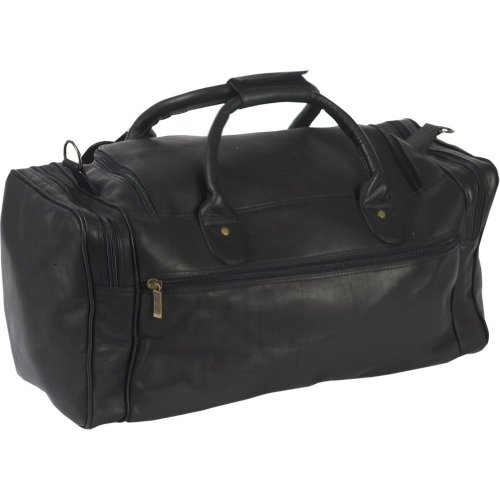 Claire Chase Executive Vaquetta Leather Duffel Bag
