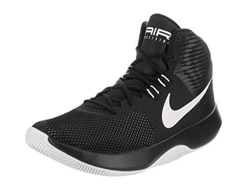 Grey Shoe Precision Basketball Nike Men Air 10 White Men's US Cool Black RZYAW8