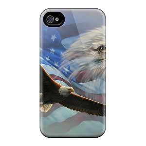 New Snap-on Skin Cases Covers Compatible With Iphone 6- The Flag Eagle