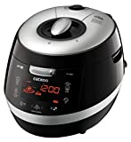 Cuckoo CRP-HY1083F 10 Cup Pressure Rice Cooker, 110V, Black