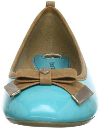sintético Blau 528 Bruno material NATALIE de Bailarinas River Azul mujer Banani Rq8q4X