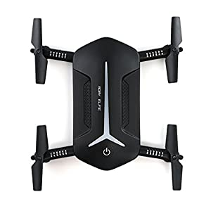 JJRC H37 MINI BABY ELFIE 720P HD WIFI FPV Camera Live Video Feed 2.4GHz 6-Axis Gyro Quadcopter for Kids & Beginners - Altitude Hold, One Key Start, Foldable Arms,Battery,Lifestyler
