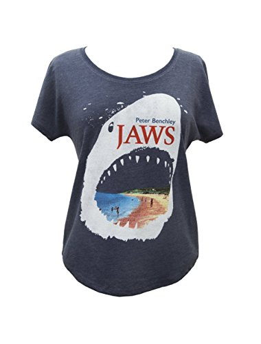 Out of Print Jaws Women's Dolman T-Shirt Small