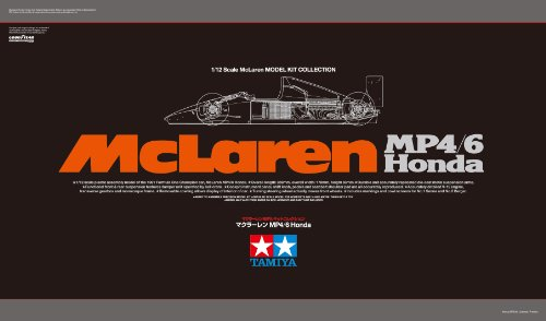 Scale Limited Series 1/12 McLaren MP4/6 Honda 89721, used for sale  Delivered anywhere in USA