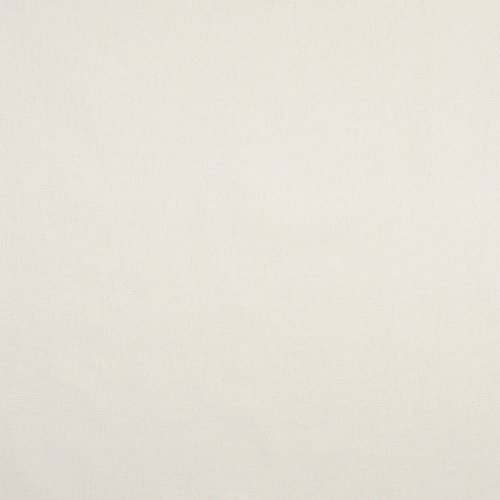 (J444 Off White Solid Cotton Canvas Duck Preshrunk Upholstery Fabric by The Yard)