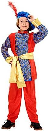 Disfraz de Paje del Rey Melchor de niño en varias tallas: Amazon ...