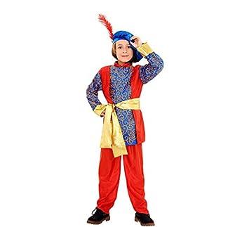 Disfraz de Paje del Rey Melchor de niño en varias tallas