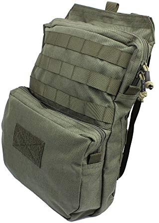 LytHarvest Tactical Molle Hydration Carrier Bladder is not Included , Tactical Mobility 3-Liter Hydration Pack for Hiking, Biking, Climbing
