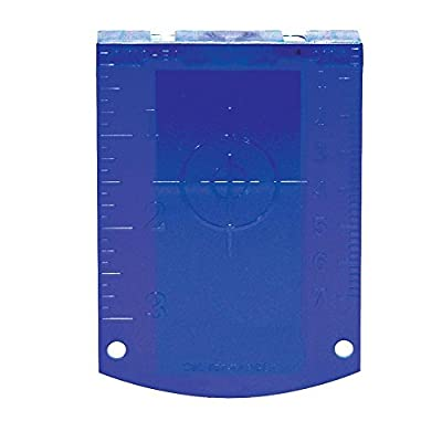 CST/Berger 57-TARGET-G Magnetic Blue Target for Use with Green Lasers