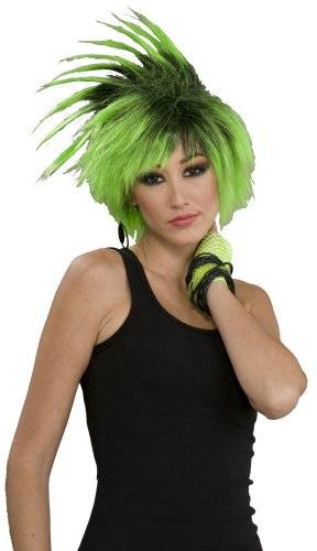 [Twist O' Lime Adult Wig] (Lime Green Wigs)
