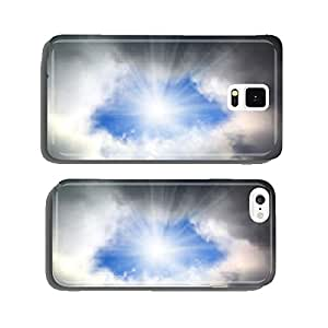 sun shining through hole in clouds cell phone cover case Samsung S5
