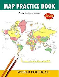 Buy world map stencil online at low prices in india amazon map practice book world poltical gumiabroncs Choice Image