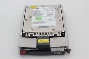 """HP SP/CQ HDD 72,8GB 15k U320 Hot-Plug - Disco duro (SCSI, 72,8 GB, 2,54 cm (1""""), 10,16 cm, 2,54 cm, 800g)"""