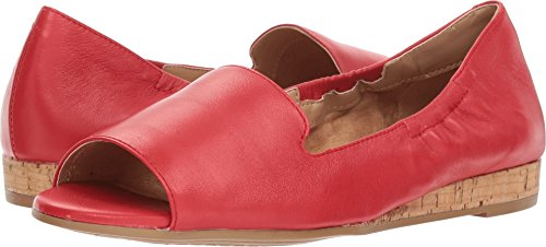 Aerosoles Women's Tidbit Mid Red Leather 11 B - Leather Mid Red Footwear