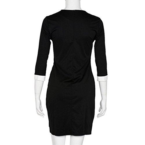 Robe Femme, Fulltime® Casual robe de soirée Femmes Sexy Party manches trois quarts