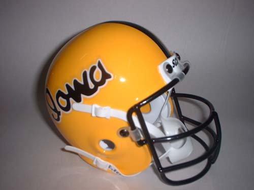 Schutt 1978 Iowa Hawkeyes Throwback Mini Helmet - Iowa Hawkeyes Mini Helmet