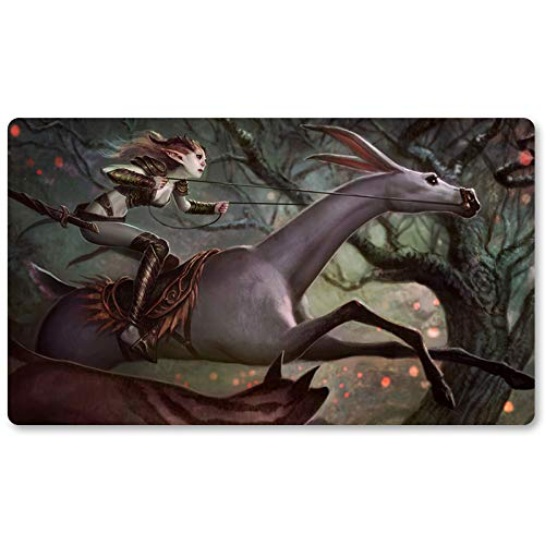 Wilt Leaf Liege - Board Game MTG Playmat Table Mat Games Size 60X35 cm Mousepad Play Mat for Yugioh Pokemon Magic The Gathering (Mtg Wilt Leaf)