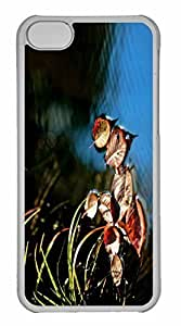 iPhone 5C Case, Personalized Custom The Moment for iPhone 5C PC Clear Case