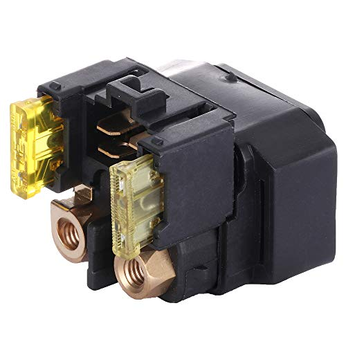 SCITOO Starter Relay Solenoid Compatible for Yamaha ATV Raptor 660 YFM660 2001 2002 2003 2004 2005 RL1292RE102AR